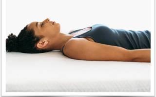 Можно ли спать без подушки при шейном остеохондрозе