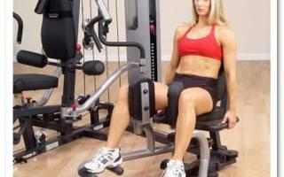 Упражнения в тренажерном зале при сколиозе