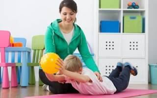 Упражнения для профилактики сколиоза у детей
