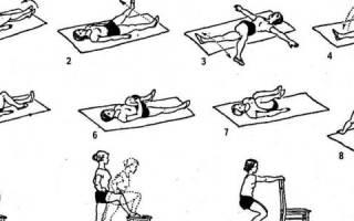 Упражнения при болезни тазобедренного сустава
