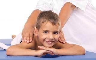 Массаж спины при сколиозе у детей