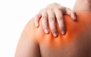 Ноющая боль в левом плечевом суставе