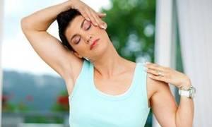 Упражнения для остеохондроза шейного отдела видео