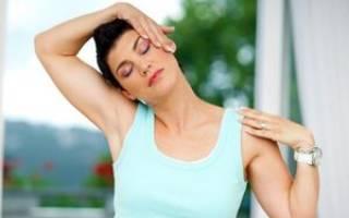 Гимнастика для шейного отдела позвоночника при остеохондрозе видео