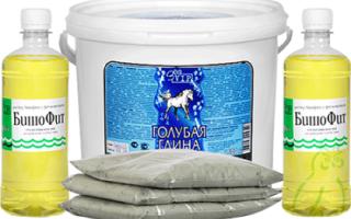Синяя глина для лечения суставов