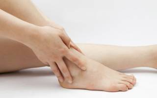 Опухла нога в районе голеностопного сустава