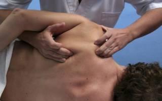 Боль в плечевом суставе правой руки при отведении назад