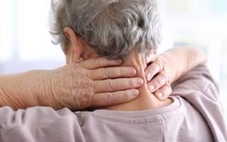 Межпозвоночный остеохондроз шейного отдела позвоночника
