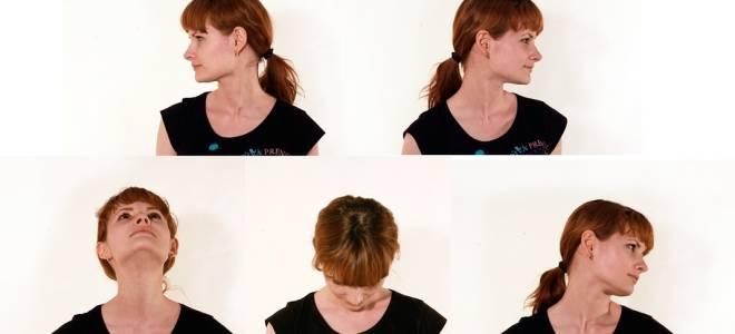 Упражнения при остеохондрозе шейного отдела видео