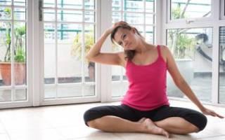 Зарядка при грудном и шейном остеохондрозе в домашних условиях