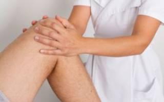Массаж коленного сустава после травмы