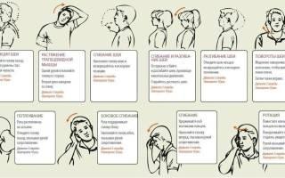 Зарядка для остеохондроза шеи и спины