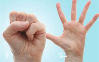 Упражнения при артрите кистей рук