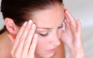 Как убрать головокружение при шейном остеохондрозе