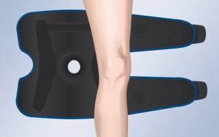 Ортез с шарнирами на коленный сустав