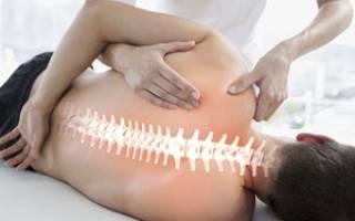 Массаж при шейно грудном остеохондрозе