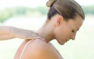 Остеохондроз шейного и грудного отдела позвоночника симптомы