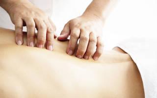 Можно ли делать массаж при грыже поясничного отдела