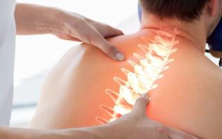 Лечебный массаж при остеохондрозе шейного отдела позвоночника