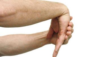 Боль в суставе кисти правой руки