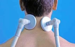 Физиолечение при остеохондрозе шейного отдела