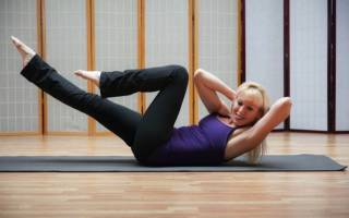Гимнастика для поясничного отдела позвоночника при остеохондрозе