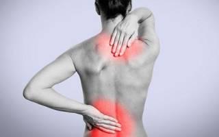 Как болит спина при остеохондрозе