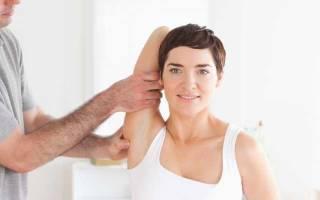 Упражнения при лопаточно плечевом периартрите
